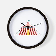 Circus Tent Wall Clock