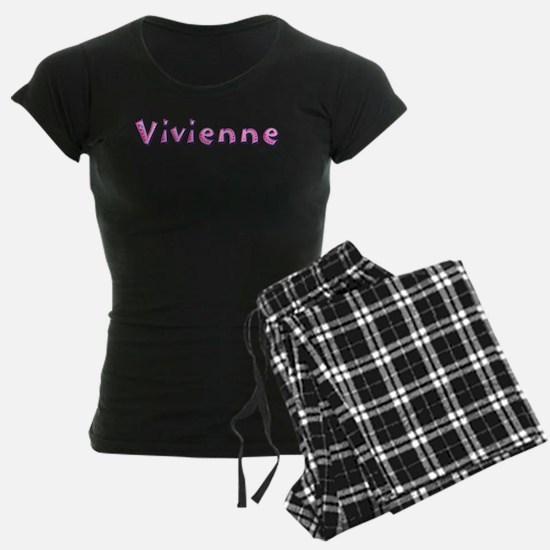 Vivienne Pink Giraffe Pajamas