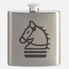 Knight Chess Piece Flask