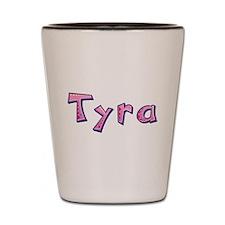 Tyra Pink Giraffe Shot Glass