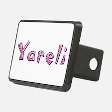 Yareli Pink Giraffe Hitch Cover