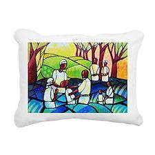 Baptsim Rectangular Canvas Pillow
