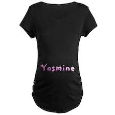 Yasmine Pink Giraffe T-Shirt