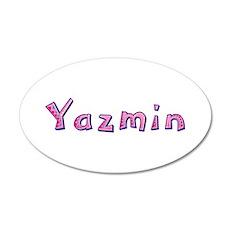Yazmin Pink Giraffe Wall Decal
