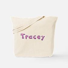 Tracey Pink Giraffe Tote Bag