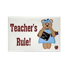Teacher's Rule Rectangle Magnet