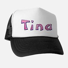 Tina Pink Giraffe Trucker Hat