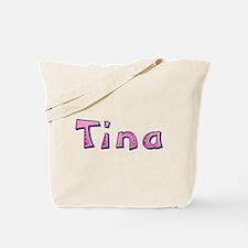 Tina Pink Giraffe Tote Bag