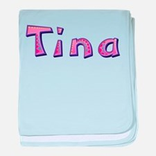 Tina Pink Giraffe baby blanket