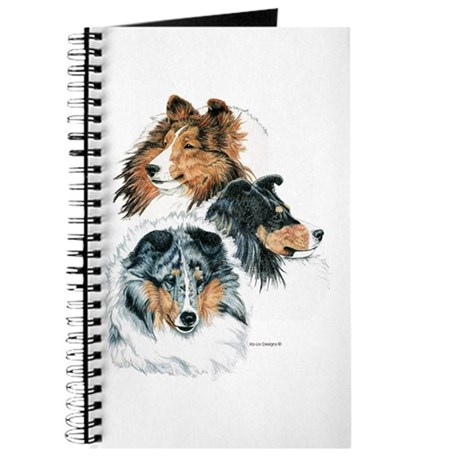 Sheltie Portraits Journal