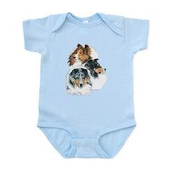 Sheltie Portraits Infant Bodysuit