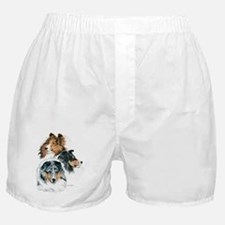 Sheltie Portraits Boxer Shorts