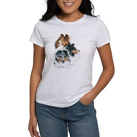 Sheltie Portraits Women's T-Shirt