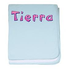 Tierra Pink Giraffe baby blanket