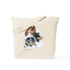 Sheltie Portraits Tote Bag