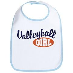 Volleyball Girl Bib