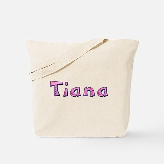 Tiana Pink Giraffe Tote Bag
