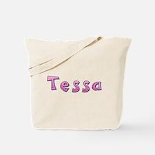 Tessa Pink Giraffe Tote Bag