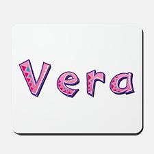 Vera Pink Giraffe Mousepad