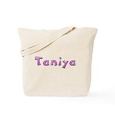 Taniya Pink Giraffe Tote Bag