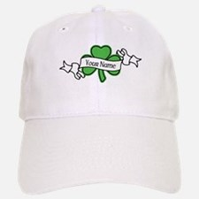 Shamrock CUSTOM TEXT Baseball Hat