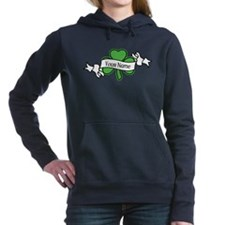 Shamrock CUSTOM TEXT Hooded Sweatshirt
