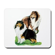 Sheltie Paintings Mousepad