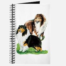 Sheltie Paintings Journal
