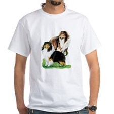 Sheltie Paintings Shirt