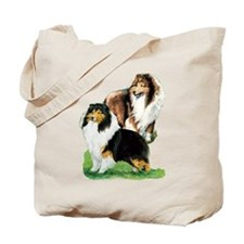 Sheltie Paintings Tote Bag