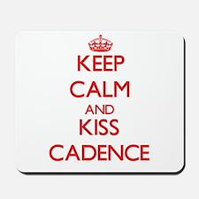 Keep Calm and Kiss Cadence Mousepad