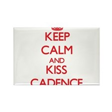 Keep Calm and Kiss Cadence Magnets