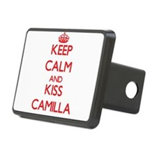 Keep Calm and Kiss Camilla Hitch Cover