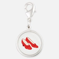 Wizard Of Oz Ruby Slippers Charms