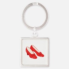 Wizard Of Oz Ruby Slippers Keychains