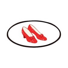 Wizard Of Oz Ruby Slippers Patches