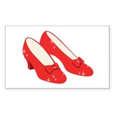 Wizard Of Oz Ruby Slippers Decal