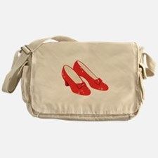 Wizard Of Oz Ruby Slippers Messenger Bag
