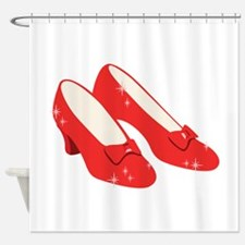 Wizard Of Oz Ruby Slippers Shower Curtain