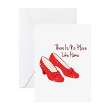 There Is No Place Like Home Greeting Cards