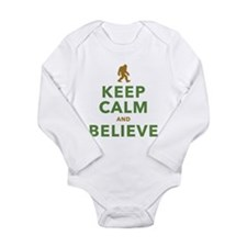 Keep Calm and Believe Body Suit