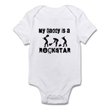 My Daddy Is A Rock Star Onesie