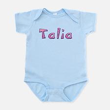 Talia Pink Giraffe Body Suit