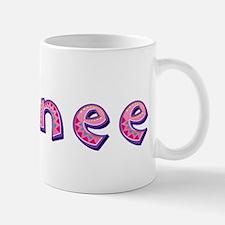 Sydnee Pink Giraffe Mugs