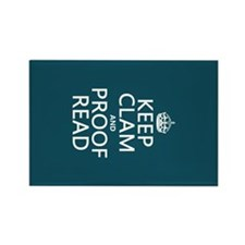 Keep Calm and Proof Read (clam) Magnets