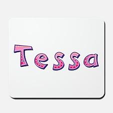 Tessa Pink Giraffe Mousepad