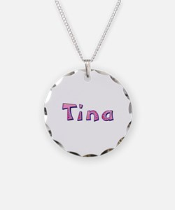 Tina Pink Giraffe Necklace