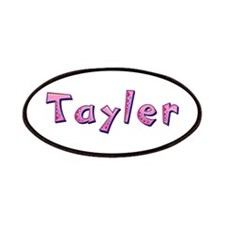 Tayler Pink Giraffe Patch