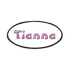 Tianna Pink Giraffe Patch