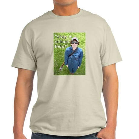 """""""Stay in School"""" Phil Stanley Image T-Shirt"""